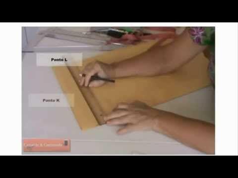Molde Básico da Blusa com Pence - Tecido Plano - YouTube
