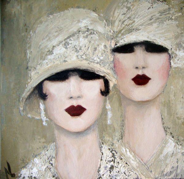 1920s art deco,flapper women, 1920 women, 1920 paintings, 1920's artwork, oil paintings,acrylic paintings women fashion