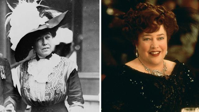 Margaret Brown Kathy Bates portrayed the wealthy socialite from Hannibal, Mo., who not only survived the Titanic's sinking but helped others...