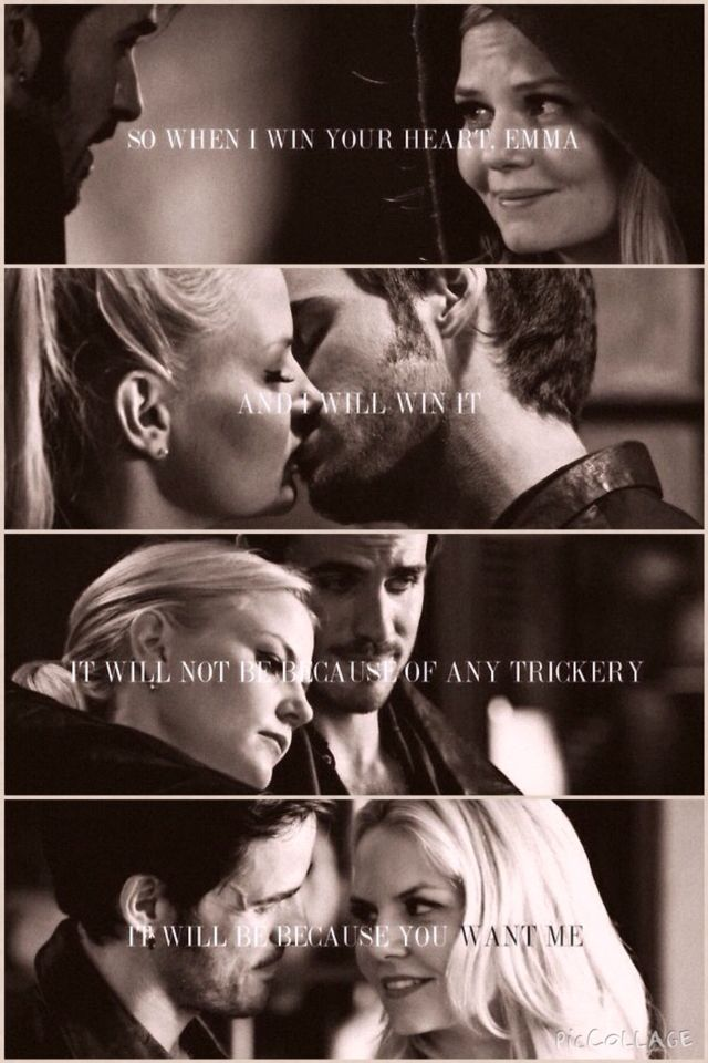 ❤️❤️ #captainswan I left this description as I always leave clean descriptions, but today I wanted to point out that if Emma and Killian got married, HE would remain Captain Hook or Killian or whatever, and SHE would take HIS name and it would be Emma Jones...the hooker....i'm just sayin'....