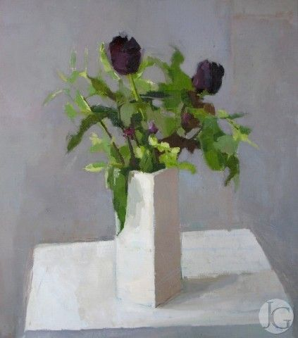 Paintings by Sarah Spackman from The Jerram Gallery, Sherborne, Dorset.  Contemporary British pictures and sculpture