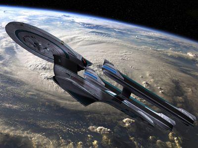 Star Trek USS Enterprise NCC-1701-B.