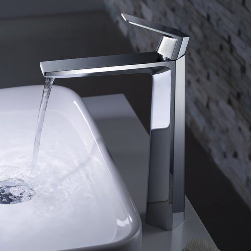 Found it at Wayfair - Exquisite Vessel Single Handle Bathroom Faucet