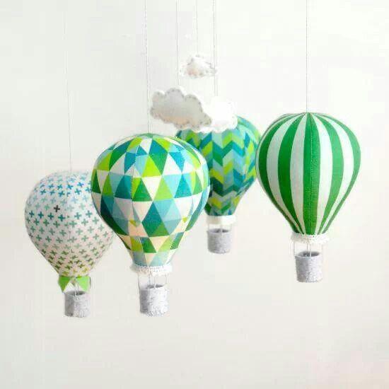 Balões de tecido
