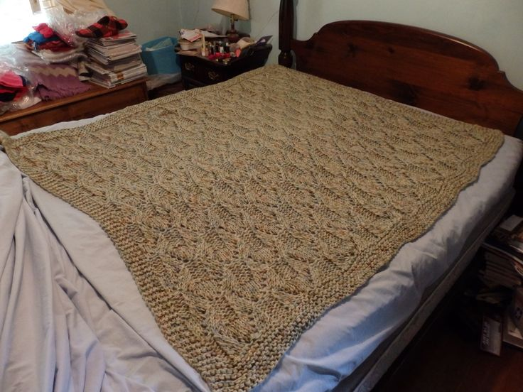 """I made this for my nephew  L in 2014.  I like to keep my """"kids"""" warm!"""