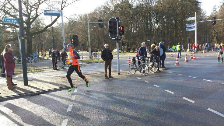 Finish Midwinter Marathon 2014, 2 feb 2014; 27,5 km.