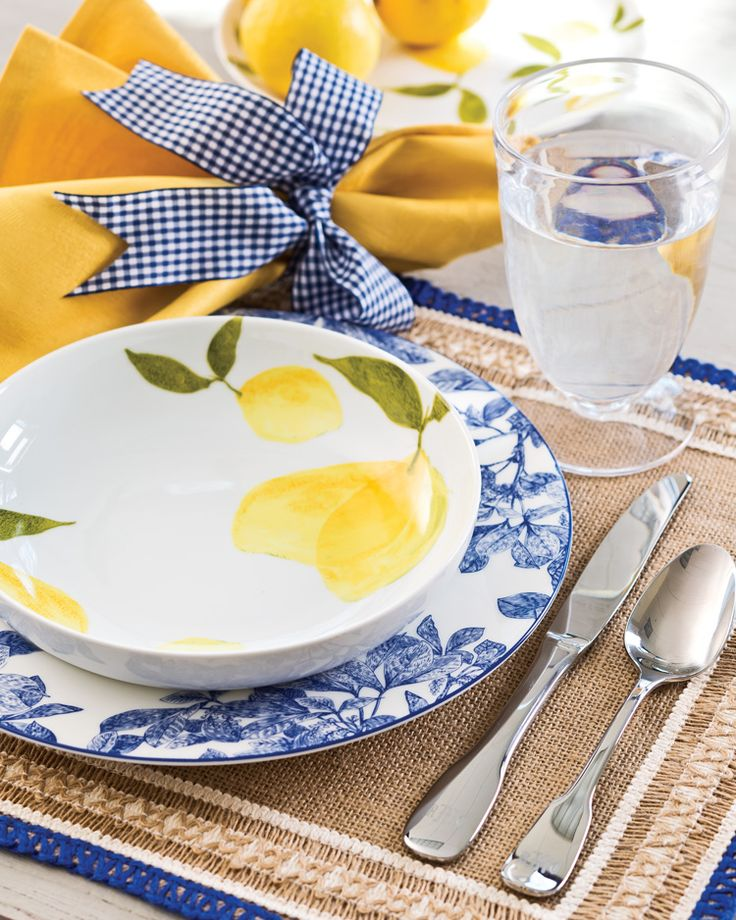 Timeless Blue and White Tablescape Two Ways: Casual Possibility