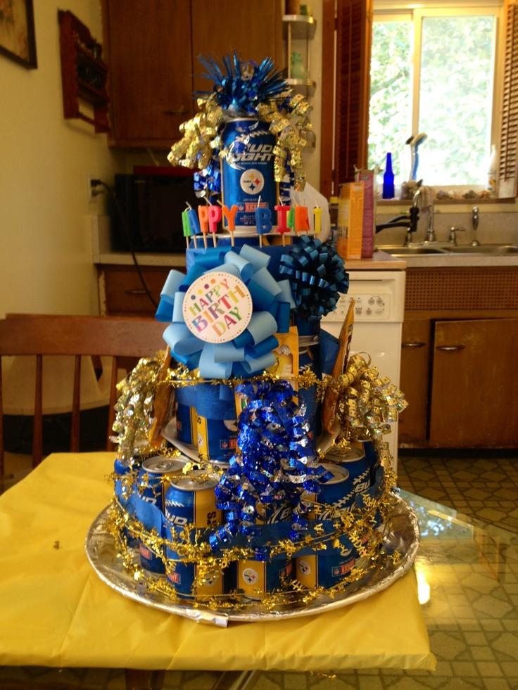 Bud Lite M Birthday Cake