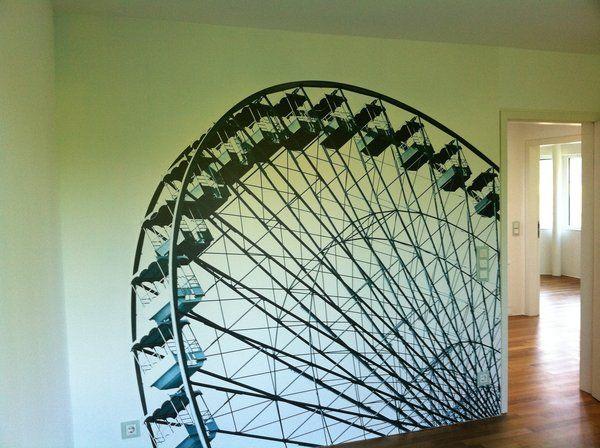 Ob Riesenrad oder barockes Muster mit Effekt – den eigenen Wünschen sind bei den…
