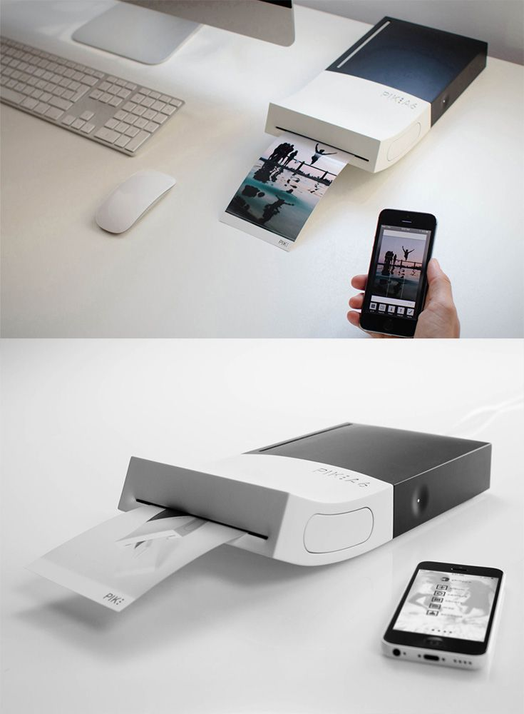 The 'PIK A6' is a sublimation photo printer, which enables the user to get high-quality prints in the fastest possible way... READ MORE at Yanko Design !