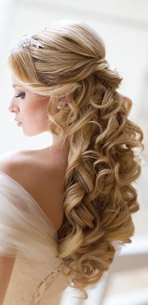 Neuesten Frisuren Fur Lange Haare Hochzeit Trendfrisuren Pinterest