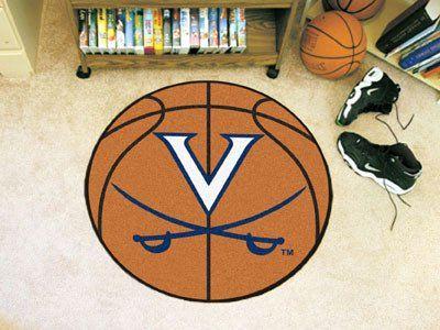 "Virginia Basketball Mat 27"" diameter"