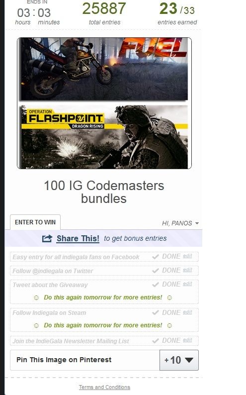 The IndieGala CodeMasters Bundle