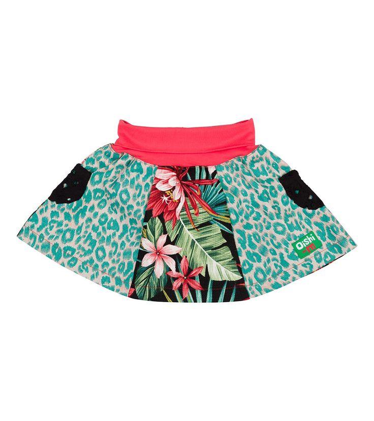 Flamingo Skirt, Oishi-m Clothing for kids, HiSummer 2016, www.oishi-m.com