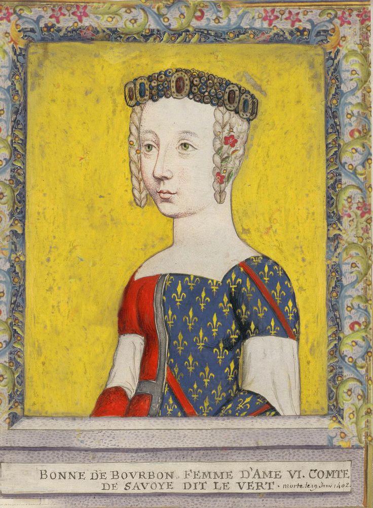 BONNE DE BOURBON COMTESSE DE SAVOIE, d. 1402