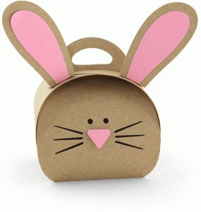 Silhouette Design Store - View Design #77336: easter bunny petal box