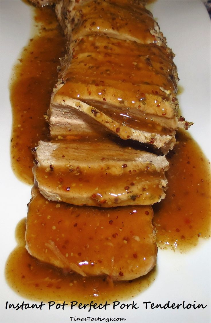 Instant Pot Perfect Pork Tenderloin