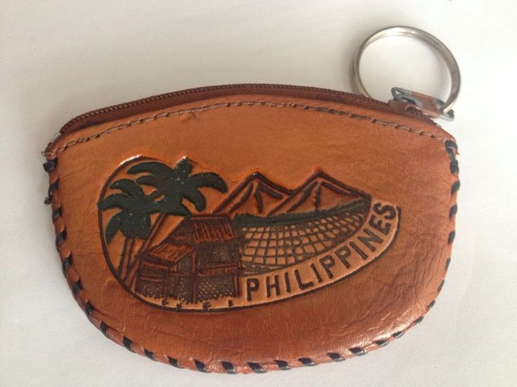 Philippine Islands Coin Pouch Souvenir Made In Philippines