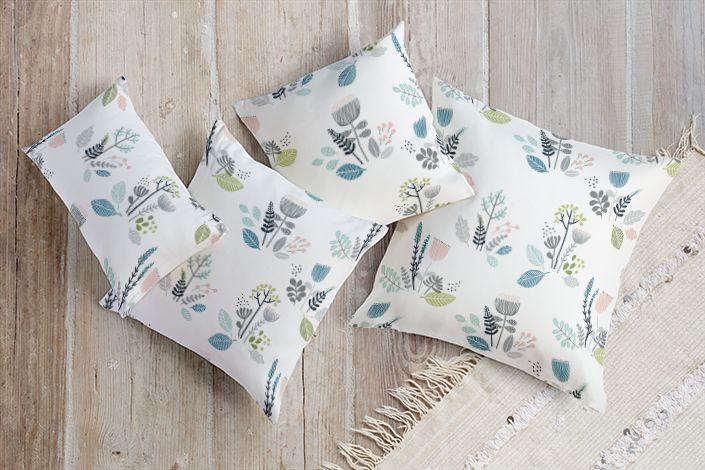 Wild flowers cushions | Stylisti on Minted