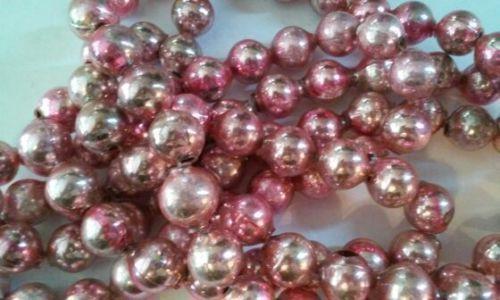 Christmas-Garland-Mercury-Glass-Mixed-Colors-66-Long-5-8-Beads