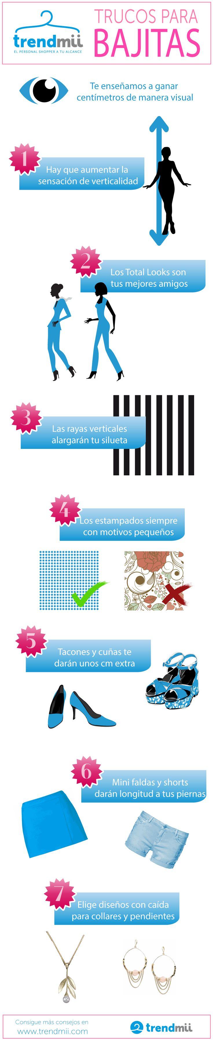 Trucos para bajitas/chaparritas, encuentra más en www.trendmii.com