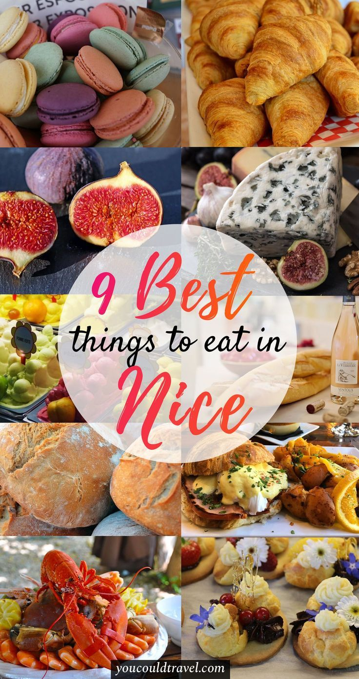 Nice Travel Guide - Wondering what French food to eat in Nice? Here is the best food you need to try during your trip to the French Riviera. it includes some dishes you would have never thought you'll find in France! #france #food #guide #nice