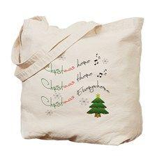 CHRISTMAS EVERYWHERE Tote Bag