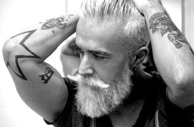 17 best images about things i like really really like for Silver fox tattoo