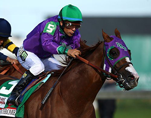 California Chrome / Race Horse 11 x 14 GLOSSY Photo Picture IMAGE #2:   Professionally Printed On GLOSSY Photo Paper  Photo IS Shipped Between (2) Cardboards For Total Protection, with BRIGHT DO NOT BEND STICKER  **Photos are Beautiful, SHARP**  Paper Weight - 11.8 mil