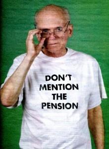 Grappige (en misschien flauwe) dingen die met pensioen te maken hebben.