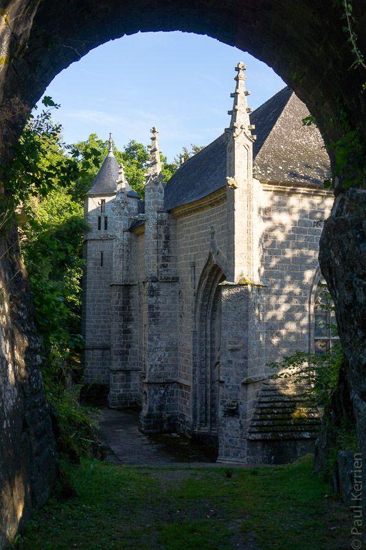 Sainte Barbe - Le #Faouet en couleurs (3 photos) #Morbihan #Bretagne © Paul Kerrien  http://toilapol.net