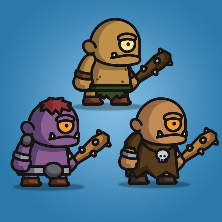 Cyclop Tiny Style Character
