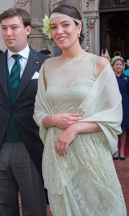 "<B>PRINCESS ALEXANDRA OF LUXEMBOURG</B>    <a href=""http://us.hellomagazine.com/tags/1/luxembourg-royals/""><strong>Princess Alexandra</strong></a>, born in 1991, is the only daughter in Grand Duke Henri and Grand Duchess Maria Teresa's five-strong brood. The young Princess showed off some serious 1920s glamour in a mint-hued lace dress and headband at National Day in 2015.     Photo by Mark Renders/Getty Images"