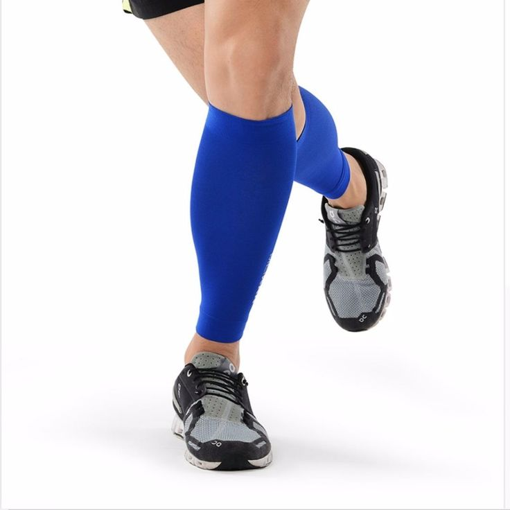 Brand New Race Energy Compression Calf Sleeve Reduce Muscle oscillations Shins Guards Leg Warmers for Running Jogging Basketball