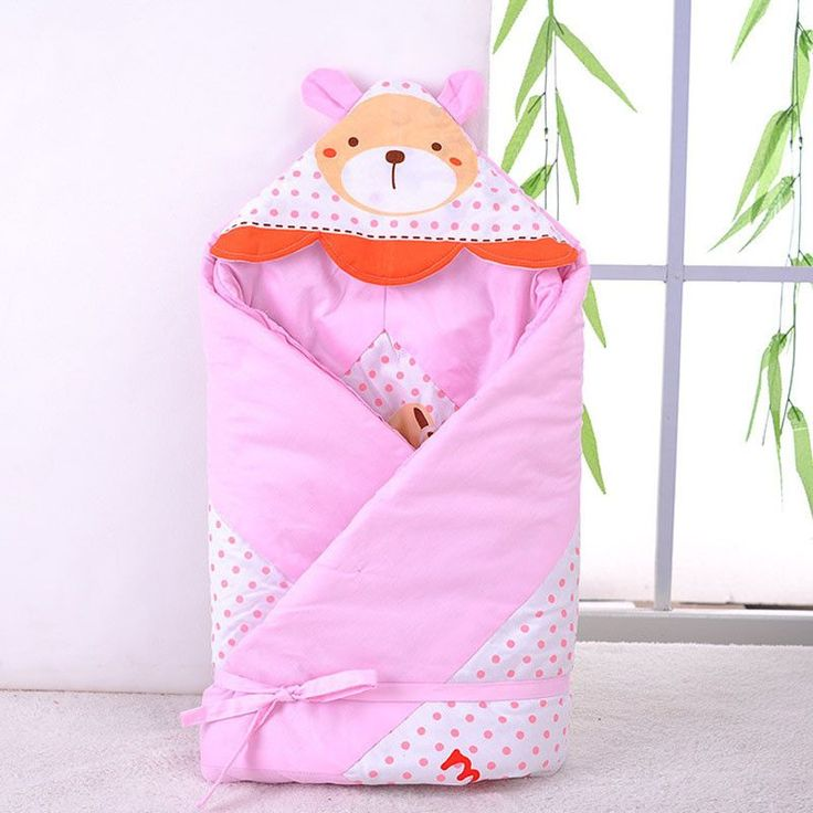 Baby Stroller Sleeping Bags Bear Cotton The Envelope for Newborn Girls Boys Winter Sleeping Bag Baby Stroller Sleeping Bags