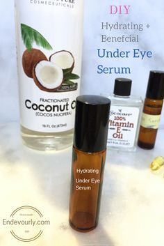 The fragile skin around our eyes leaves us vulnerable to the inevitable  signs of aging. Wrinkles,fine lines, under eye bags and dark circles are  those things that drives us all crazy. Since we have fewer oil glands in  this area to keep the skin lubricated, hydrated and protected, it is  important to regularly pamper this delicate skin with vitamin rich  ingredients.   Hydrating + beneficial undereye serum  No need to spend loads of money on expensive and often ineffective eye  creams…