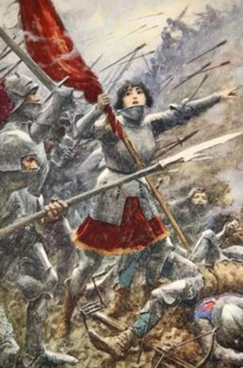 Apr 29, 1429: During the Hundred Years' War, the 17-year-old French peasant Joan of Arc leads a French force in relieving the city of Orleans, besieged by the English since October.