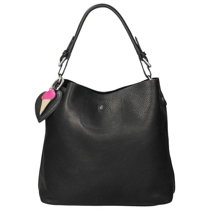 Hobo bag: FAB(ienne Chapot) buideltas Apple Bag dallas black