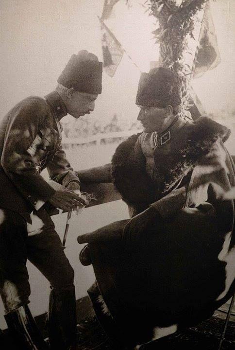 ✿ ❤ Atatürk ve İnönü