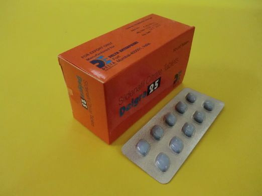 Delgra 25 mg contains Sildenafil Citrate 25 mg.Delgra 25 mg is available in a blister pack of 10 blue colored pills.Delgra 25 mg pills are diamond shape.