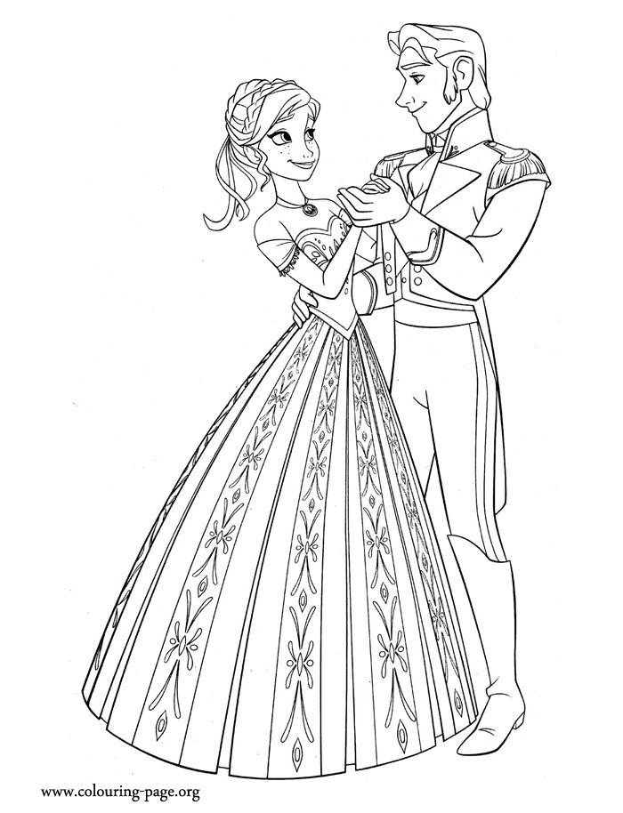 Enjoy This Awesome Printable Disney Frozen Coloring Sheet And Have Fun