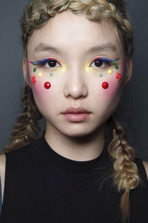 Backstage at Manish Arora Fall 2014 RTW