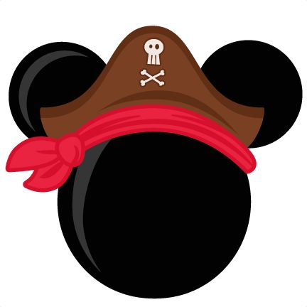 pirate mouse head freebies free svg files for scrapbooking Mickey Mouse Birthday Clip Art Mickey Mouse Shorts Clip Art