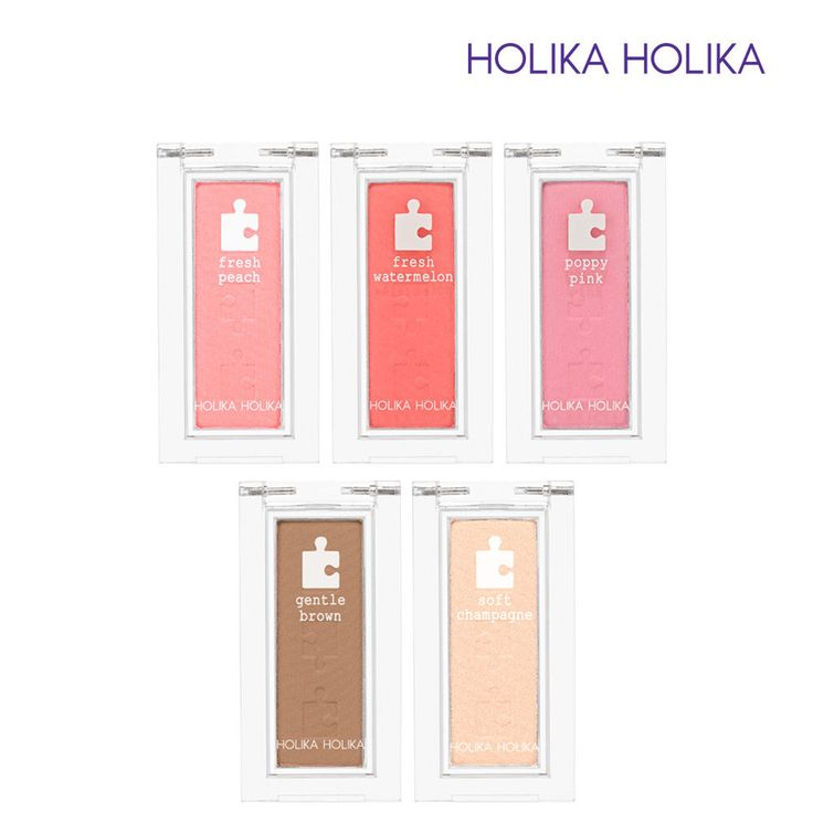 [Holika Holika] Piece Matching Blusher 10 Colors Long-lasting / Korean Cosmetic #HolikaHolika