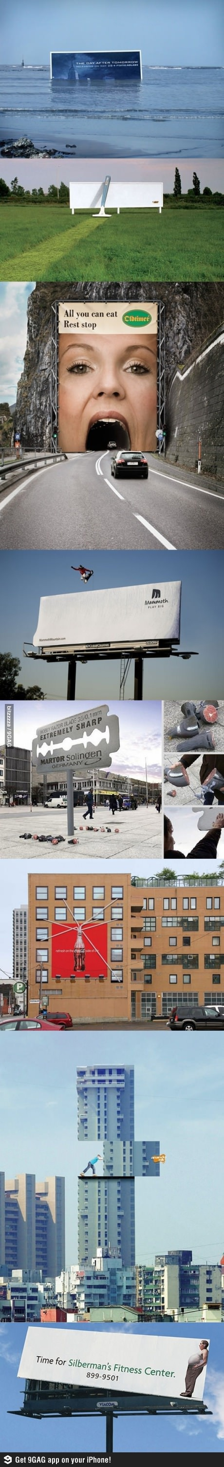 billboards that actually  make a real statement  instead of stating  nothing
