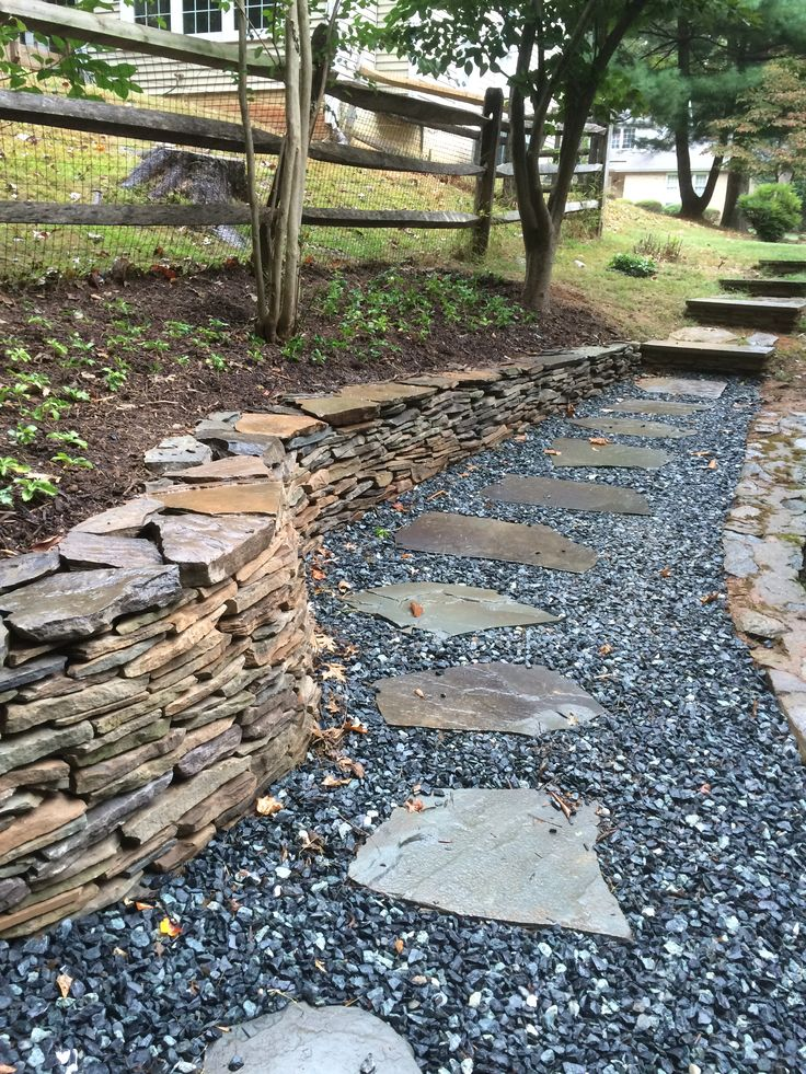 108 Best Stacked Stone Landscaping Images On Pinterest