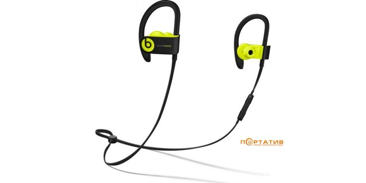 Beats Powerbeats 3 Wireless Shock Yellow (MNN02ZM/A) - наушники для спорта в магазине персонального аудио Портатив • всегда самые выгодные цены • Слушай и выбирай в меломанском колективе • оставляй информативные отзывы • получай бонусы • становись экспертом • делись своим мнением • пиши крутые обзоры • будь в Топе!