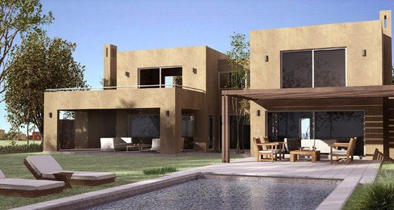 Estilo rustico fachadas rusticas ba os pinterest for Fachadas de casas mexicanas rusticas