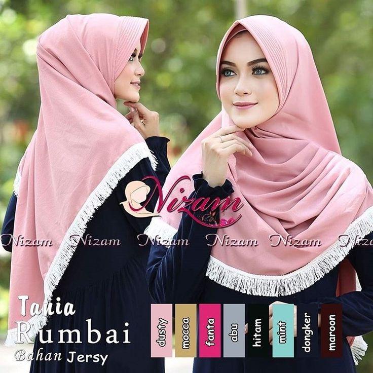 Jilbab Kerudung Bergo Tania Rumbai Jilbab Kerudung Bergo Tania Rumbai mempunyai keterangan produk sebagai berikut ini :  Jilbab/Hijab ini menggunakan Bahanjersey super Jilbab/Hijab ini beraplikasiaksen tali rumbai Jilbab/Hijab ini jilbab instan bergonya memakai pad    KATALOG DI MAUDY... Jilbab Kerudung Bergo Tania Rumbai http://www.maudyhijab.com/jilbab-kerudung-bergo-tania-rumbai.html