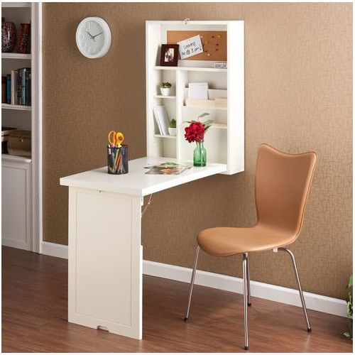 Ideas for the girl's room  Found it at Wayfair Supply - Adams Wall-Mounted Floating Desk